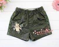 Children's clothing female child summer bear child jeans shorts