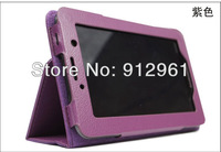 "7"" Lenovo ideatab A1000 A3000 A1010 A5000 Tablet Cute Cartoon LEATHER CASE Cover +Stylus+Film Free Shipping"