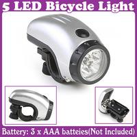 2 pcs/lot_5 LED Bike Bicycle Light