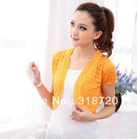NEW wholesale Women's girl clothes Hollow-out lozenge sweater +Free Shipping YF0145