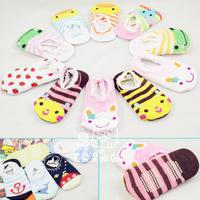 10pcs/ lot  ! baby toddler socks shoes baby non-slip socks set child floor socks sock slippers