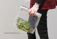 new 2013 brand designers handmade silver transparent roll-up hem clutch jelly women handbag fashion picnic small bags ladies