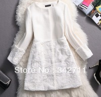 13 new winter woolen clouds female cashmere wool coat woolen coat woolen