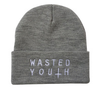 Free Shipping Fasion Wasted Youth Beanie ,Winter Hats