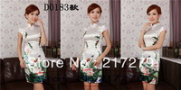 Goldfish Cheongsams dress Clothing Women's  Short dress / wedding cheongsam