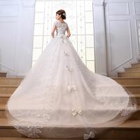 2014 wedding formal dress short wedding dress princess wedding dress summer wedding dress train wedding dress
