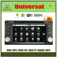 Android Nissan Universal Car DVD GPS Navigation with 512M RAM, Radio BT IPOD USB/SD+(Optional DVB-T, 3G wifi )
