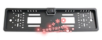 2012 Factory wholesale free shipping CMOS EU car license plate frame camera WF-806