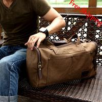 2013 New Designer Men Luggage & Travel Bags,Casual Canvas HandBags,Fashion Large-capacity Travel Duffle Bag