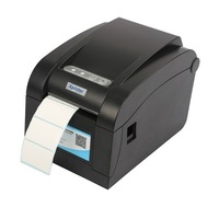 Barcode & Label printer with USB&Serial&LAN interface for thermal roll paper and self adhesive paper 16-82mm width