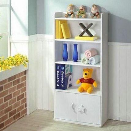 Brief bookcase bookshelf storage cabinet storage cabinet child bookcase black walnut(China (Mainland))
