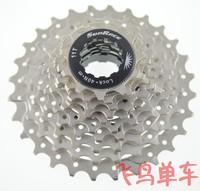 Sunrace 10 11-28t cassette flywheel 10s folding bike flywheel 250g