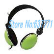 Electronic 2014 New Green Sport And Computer Headphones