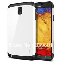 Luxury Silicone+PC SLIM ARMOR SPIGEN SGP Case Cover for Samsung Galaxy note 3 III N9000,Without Retail package+In Stock