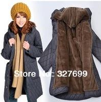 Loose plus size Down Parkas winter women clothing cotton coats 6xl size women clothes outerwear plus size xxxxxxl COAT-131070