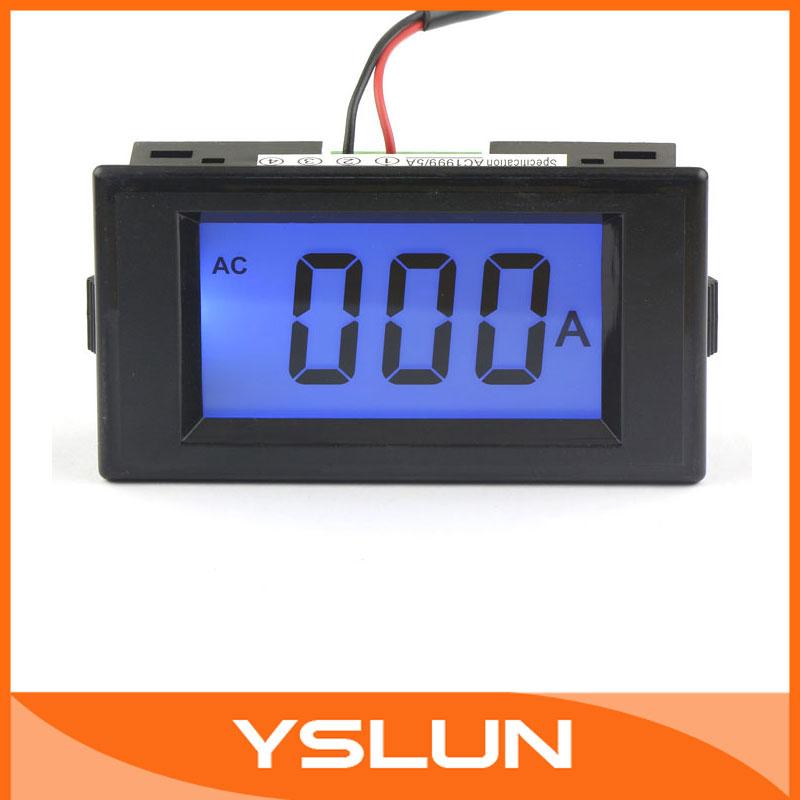 Измеритель величины тока  Digital Ammeter 100 /0/1999a LCD ac/dc8/12v #100181 Amp Meters цена и фото