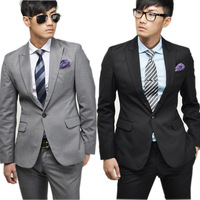 Men's business suits  Free shipping Wedding suit new high quality fashion men's suits dress suit jacket + trousers