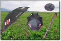 straight advertising umbrella