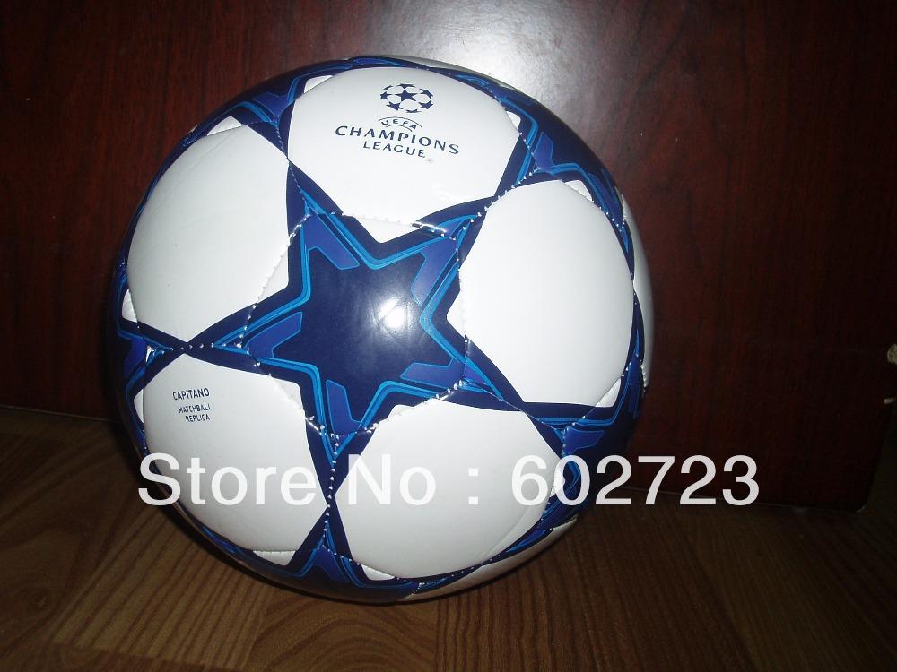 1pcs Free shipping hot sales good quality size 5 soccer ball.Larger quantity can be much cheaper. Ship China post(Hong Kong)