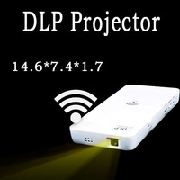 Remote Portable DLP Smart Mini Projector 60inch inch HD Support Wifi SD USB Android TV Tablet PC