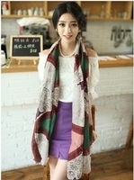 Factory direct wholesale new geometry scarves scarves shawl wholesale women