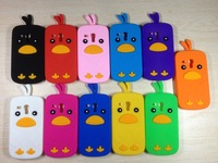 For Samsung Galaxy S3 Mini SIII i8190 Case,Cute Cartoon chicken 3D Silicone Cover Case Hot Dropshipping