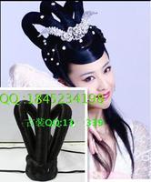 Costume fairy flying apsaras bun princess style wig