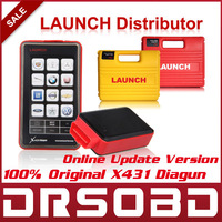 Prefessional Car Diagnostic Tool Original Launch X431 Diagun Full Set Auto Scanner Multi-Language + Free Update Via internet
