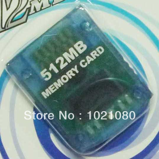 Free shipping High quality 512MB Memory Card for Wii/GC OEM CHINA(China (Mainland))