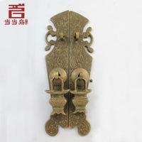 2015 Limited Sale Drawer Handle Cabinet Knobs Puxador De Gaveta Chinese Antique Copper Door Furniture Handle Dg-042 Straight