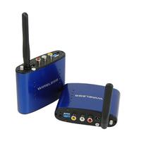 New 5.8Ghz AV Wireless Transmitter Receiver Sender Audio Video 200M PAT-630 for DVD STB shipping free