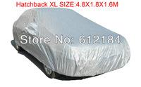 High quality universal auto car covers for focus volvo peugeot kia Anti Snow Rain UV Hatchback XL 4.8X1.8X1.6M