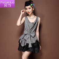 Petainluo skirt 2013 women's skirt ladies small set fashion skirt casual skirt