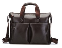 New Arrivel!  EXCELLENT QUALITY LEATHER Man bag/men's handbag business computer briefcase, shoulder bag bag Free Shipping MB91