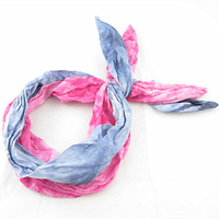 1 pair (2pc red& blue)  crease flicker women's  accessories polytropic rabbit  ear head band