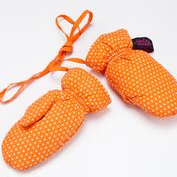 Whitethorn down gloves child gloves mitten winter thermal cute-type gloves