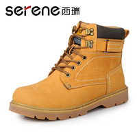 Free shipping new 2013 Winter shoes casual high shoes tooling men's boots snow boots martin boots male