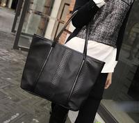 2013 women' s Serpentine bag Fashion shoulder bags Ladies pu shopping bags Black handbags