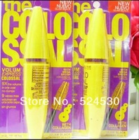 3pcs/lot Free Shipping Professional Makeup new Mascara Volume Express COLOSSAL Mascara with Collagen 9.2 ml