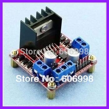 2pcs/lot L298N motor driver board module DC step motor