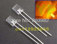 (CE&Rosh)Orange 257 leds water clear dip led 600-610nm 2.0-2.5V(square diodes)