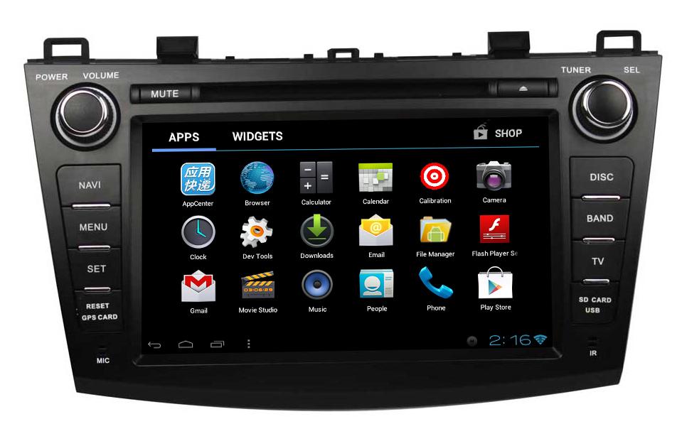 Cheap stereo car for MAZDA 3 2009-2012(China (Mainland))