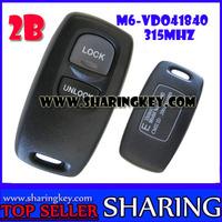 2 Button Keyless Remote Control for Mazda M6 315MHZ  VDO 41840