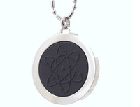WS-2 round shape stainless steel scalar bio energy pendant
