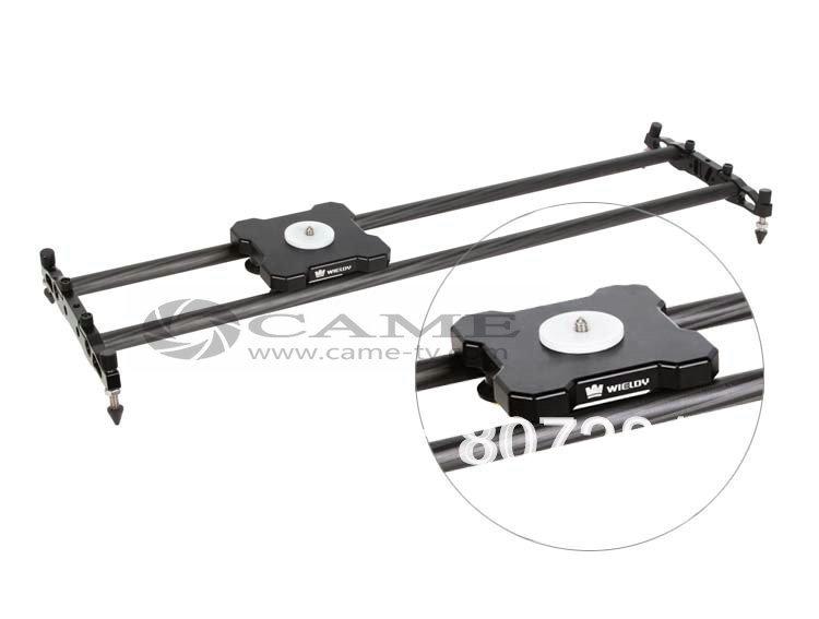WIELDY Mini Carbon Fiber Rods Light 80cm Linear Camera Slider For DSLR 5D2 5D3(China (Mainland))