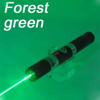 30mW forest green handheld laser pointer