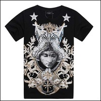 Fashion 2013 bigbang 100% cotton male women's T-shirt short-sleeve shirt