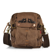 Fashion vintage casual messenger bag, popular waist pack,canvas  cross-body bag 678