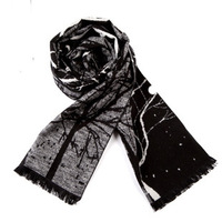 Shanghai Story 2012 new winter men's warm scarf scarves silk brushed classic British style agency