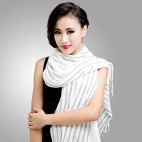 2013 new 2013 new winter long stripe knit scarf ladies SCARF SHAWL FREE SHIPPING